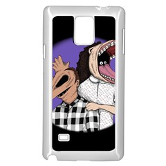 Family Portrait Of The Recently Deceased Samsung Galaxy Note 4 Case (white) by lvbart