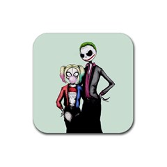 Suicide Nightmare Squad Rubber Coaster (square)  by lvbart