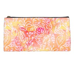 Sunny Floral Watercolor Pencil Cases by KirstenStar