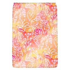 Sunny Floral Watercolor Flap Covers (l)  by KirstenStar