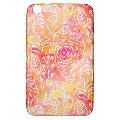 Sunny Floral Watercolor Samsung Galaxy Tab 3 (8 ) T3100 Hardshell Case  by KirstenStar