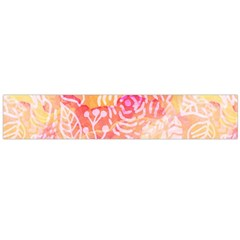 Sunny Floral Watercolor Flano Scarf (large) by KirstenStar