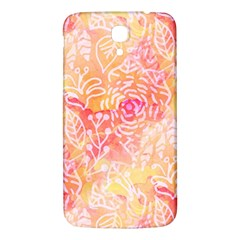 Sunny Floral Watercolor Samsung Galaxy Mega I9200 Hardshell Back Case by KirstenStar