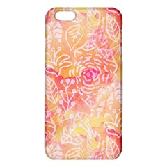 Sunny Floral Watercolor Iphone 6 Plus/6s Plus Tpu Case by KirstenStar