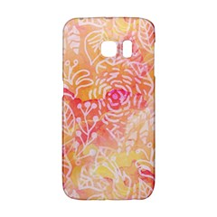 Sunny Floral Watercolor Galaxy S6 Edge by KirstenStar