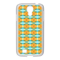 Dragonflies Summer Pattern Samsung Galaxy S4 I9500/ I9505 Case (white) by Costasonlineshop