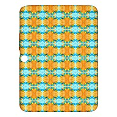 Dragonflies Summer Pattern Samsung Galaxy Tab 3 (10 1 ) P5200 Hardshell Case  by Costasonlineshop
