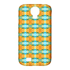 Dragonflies Summer Pattern Samsung Galaxy S4 Classic Hardshell Case (pc+silicone) by Costasonlineshop