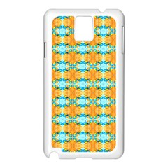 Dragonflies Summer Pattern Samsung Galaxy Note 3 N9005 Case (white) by Costasonlineshop