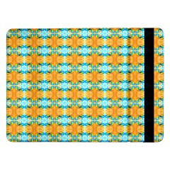 Dragonflies Summer Pattern Samsung Galaxy Tab Pro 12 2  Flip Case by Costasonlineshop