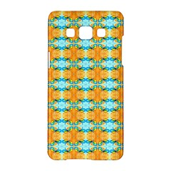 Dragonflies Summer Pattern Samsung Galaxy A5 Hardshell Case  by Costasonlineshop