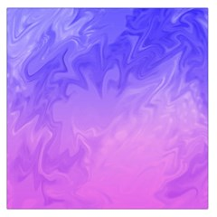 Ombre Purple Pink Large Satin Scarf (square) by BrightVibesDesign
