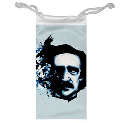 Edgar Allan Poe Crows Jewelry Bags by lvbart