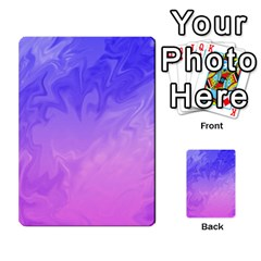 Ombre Purple Pink Multi Purpose Cards (rectangle)  by BrightVibesDesign