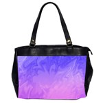 Ombre Purple Pink Office Handbags (2 Sides)  Front