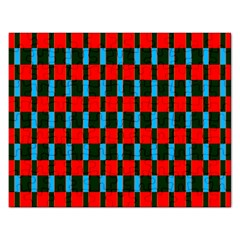 Black Red Rectangles Pattern                                                          			jigsaw Puzzle (rectangular)