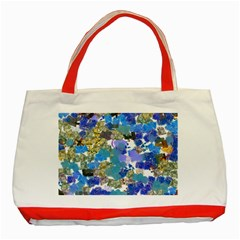 Mixed Brushes                                                           			classic Tote Bag (red) by LalyLauraFLM