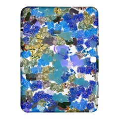 Mixed Brushes                                                           			samsung Galaxy Tab 4 (10 1 ) Hardshell Case by LalyLauraFLM