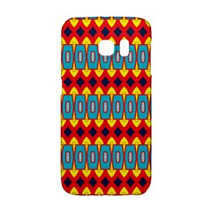 Rhombus And Other Shapes Pattern                                                            			samsung Galaxy S6 Edge Hardshell Case by LalyLauraFLM