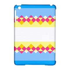 Rhombus And Stripes                                                             			apple Ipad Mini Hardshell Case (compatible With Smart Cover) by LalyLauraFLM