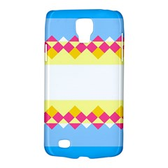 Rhombus And Stripes                                                             			samsung Galaxy S4 Active (i9295) Hardshell Case by LalyLauraFLM