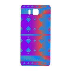 Triangles Gradient                                                             			samsung Galaxy Alpha Hardshell Back Case by LalyLauraFLM