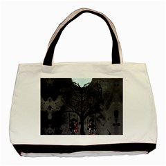 Love Tree Basic Tote Bag by lvbart