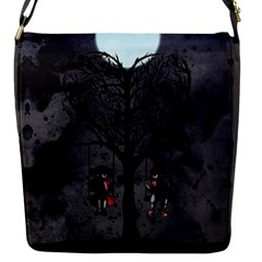 Love Tree Flap Messenger Bag (s) by lvbart