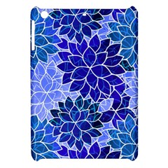 Azurite Blue Flowers Apple Ipad Mini Hardshell Case by KirstenStar