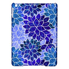 Azurite Blue Flowers Ipad Air Hardshell Cases by KirstenStar