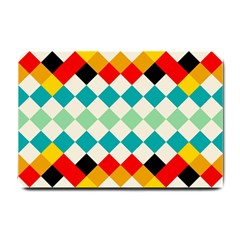 Rhombus Pattern                                                              			small Doormat by LalyLauraFLM