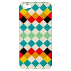 Rhombus Pattern                                                              			apple Iphone 5 Hardshell Case by LalyLauraFLM