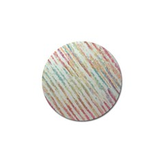 Diagonal Stripes Painting                                                               			golf Ball Marker (4 Pack) by LalyLauraFLM