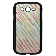 Diagonal Stripes Painting                                                               			samsung Galaxy Grand Duos I9082 Case (black) by LalyLauraFLM