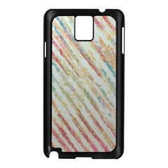 Diagonal Stripes Painting                                                               			samsung Galaxy Note 3 N9005 Case (black) by LalyLauraFLM