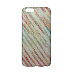 Diagonal Stripes Painting                                                               			apple Iphone 6/6s Hardshell Case by LalyLauraFLM