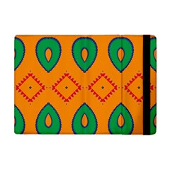 Rhombus And Leaves                                                                			apple Ipad Mini Flip Case by LalyLauraFLM