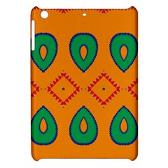 Rhombus And Leaves                                                                			apple Ipad Mini Hardshell Case by LalyLauraFLM
