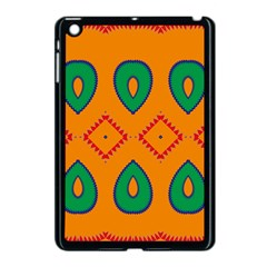 Rhombus And Leaves                                                                			apple Ipad Mini Case (black) by LalyLauraFLM