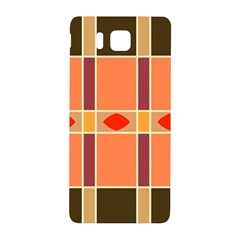 Shapes And Stripes                                                                 			samsung Galaxy Alpha Hardshell Back Case by LalyLauraFLM