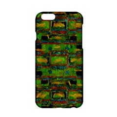 Paint Bricks                                                                 			apple Iphone 6/6s Hardshell Case by LalyLauraFLM