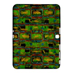 Paint Bricks                                                                 			samsung Galaxy Tab 4 (10 1 ) Hardshell Case by LalyLauraFLM