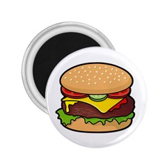 Cheeseburger 2 25  Magnets by sifis