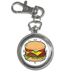 Cheeseburger Key Chain Watches by sifis