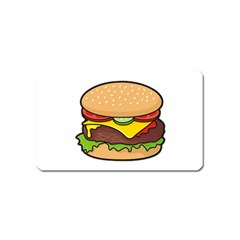 Cheeseburger Magnet (name Card) by sifis
