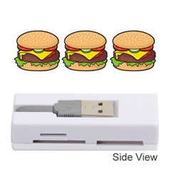 Cheeseburger Memory Card Reader (stick)  by sifis