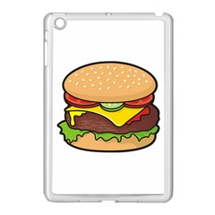Cheeseburger Apple Ipad Mini Case (white) by sifis
