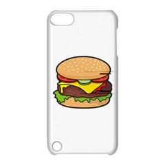 Cheeseburger Apple Ipod Touch 5 Hardshell Case With Stand by sifis