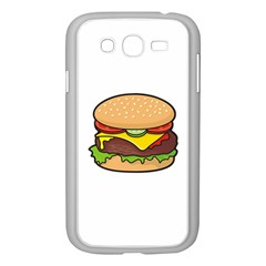 Cheeseburger Samsung Galaxy Grand Duos I9082 Case (white) by sifis
