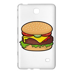 Cheeseburger Samsung Galaxy Tab 4 (7 ) Hardshell Case  by sifis